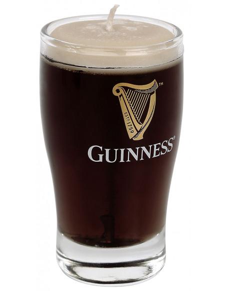 Guinness Pint Bougie noir