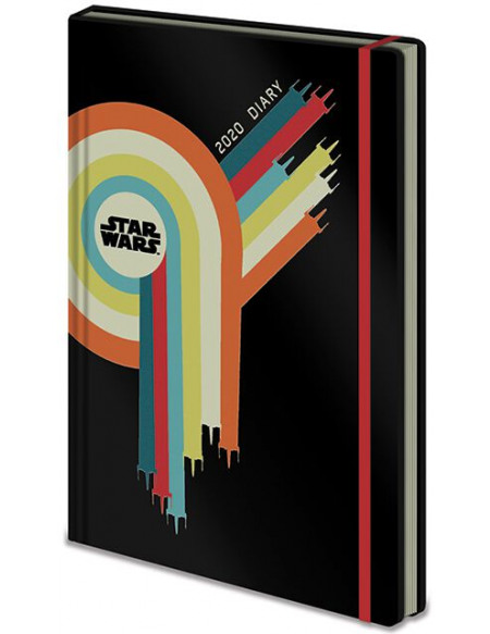 Star Wars Agenda 2020 Agenda multicolore