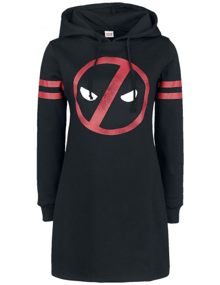 Deadpool Symbole Robe noir