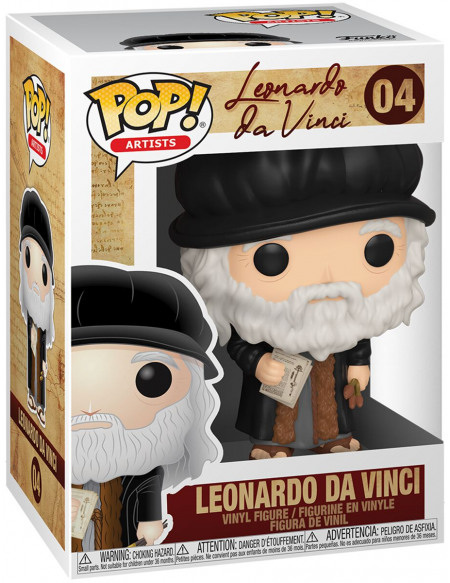 Figurine Funko Pop Artists Leonardo Da Vinci