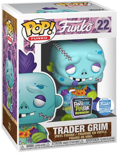 Fantastik Plastik Trader Grim (Funko Shop Europe) - Funko Pop! n°22 Figurine de collection Standard