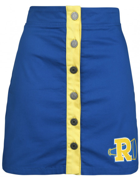 Riverdale Riverdale High Jupe bleu/jaune