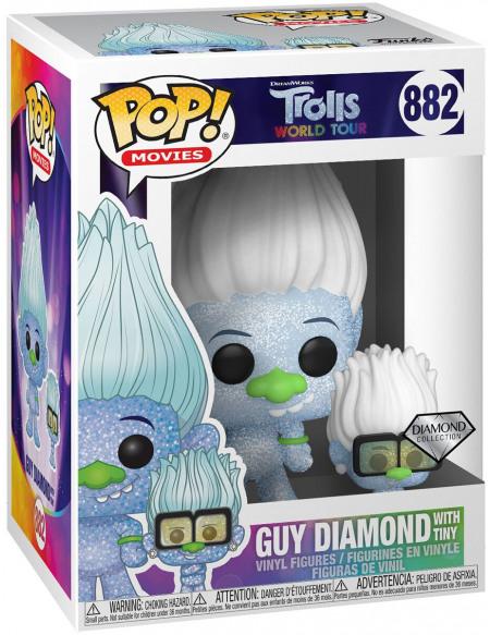 Figurine Funko Pop Trolls World Tour Guy Diamond