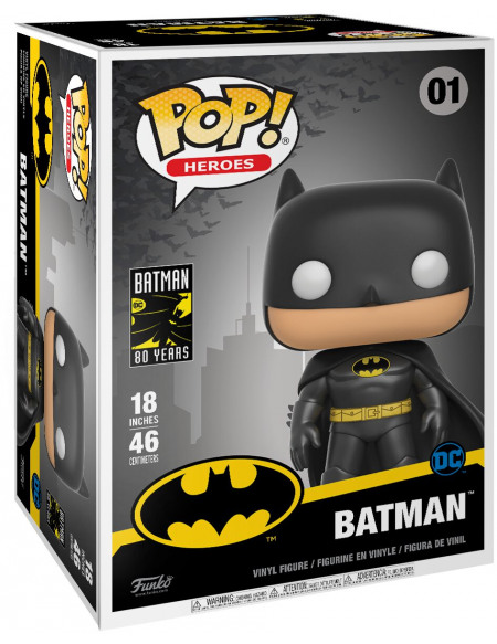 Batman Batman (Life Size) - Funko Pop! n°01 Figurine de collection Standard