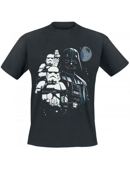 Star Wars Épisode 4 - Un Nouvel Espoir - Dark Vador T-shirt noir