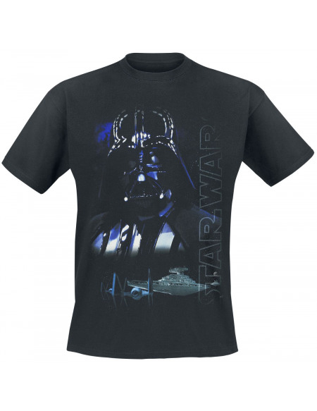 Star Wars Épisode 5 - L'Empire Contre-Attaque - Dark Vador T-shirt noir