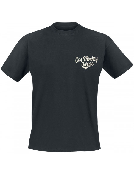 Gas Monkey Garage Racing T-shirt noir