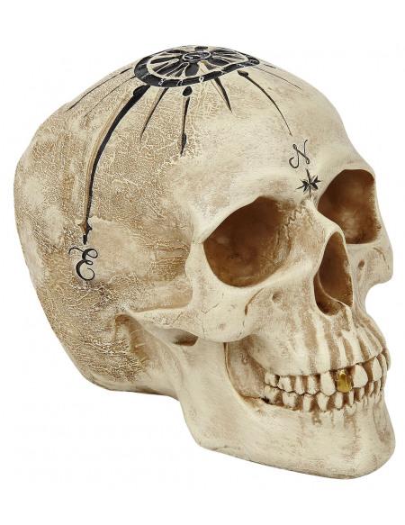 Nemesis Now Dead Man's Map Crâne décoratif Standard