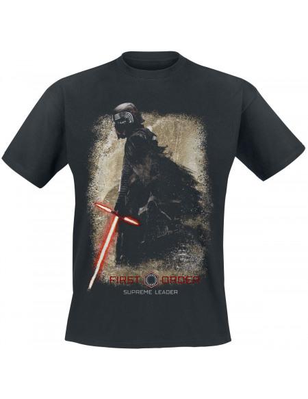 Star Wars Star Wars Épisode 9 - L'Ascension De Skywalker - First Order, Supreme Leader T-shirt noir