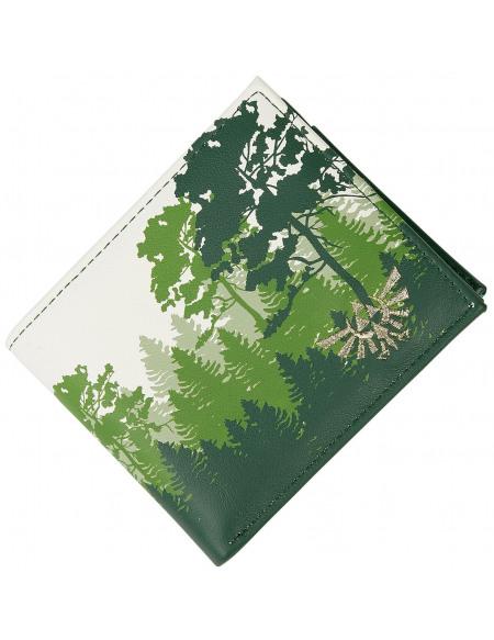 The Legend Of Zelda Forêt Verte Portefeuille vert/blanc