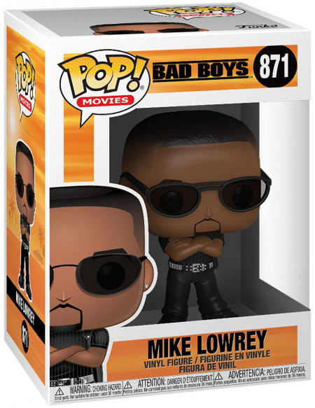 Bad Boys Mike Lowrey - Funko Pop! n°871 Figurine de collection Standard