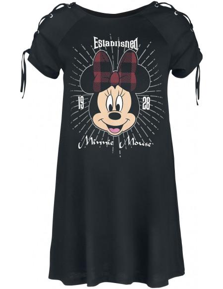 Mickey & Minnie Mouse Minnie Maus - Established 1928 Robe noir