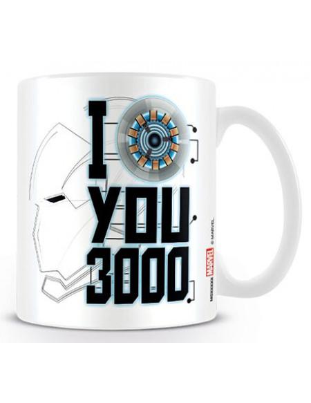 Avengers Endgame - I Love You 3000 Mug multicolore