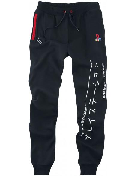 Playstation Logo - Inscription En Japonais Pantalon de Jogging noir