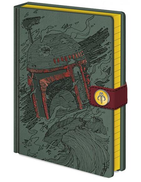 Star Wars Boba Fett Art - Cahier Cahier Standard
