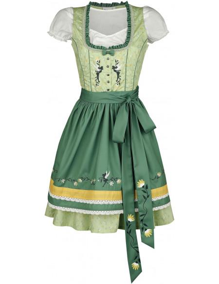 Peter Pan Fée Clochette Robe vert/vert clair