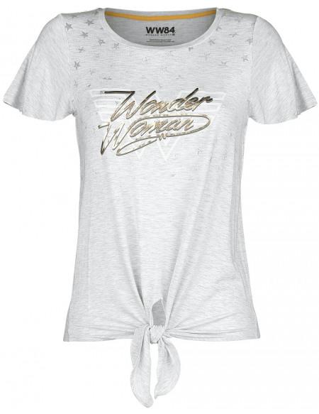 Wonder Woman Wonder Woman 1984 - Stars T-shirt Femme blanc chiné