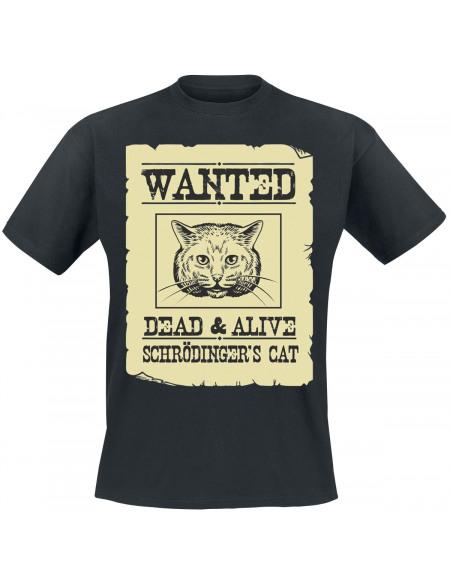 Schrödinger's Cat T-shirt noir