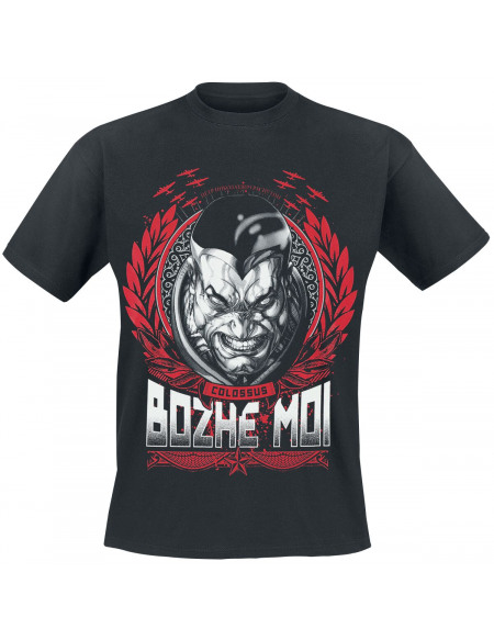 Deadpool Colossus - Bohze Moi T-shirt noir