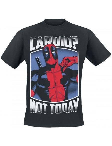 Deadpool Cardio? T-shirt noir