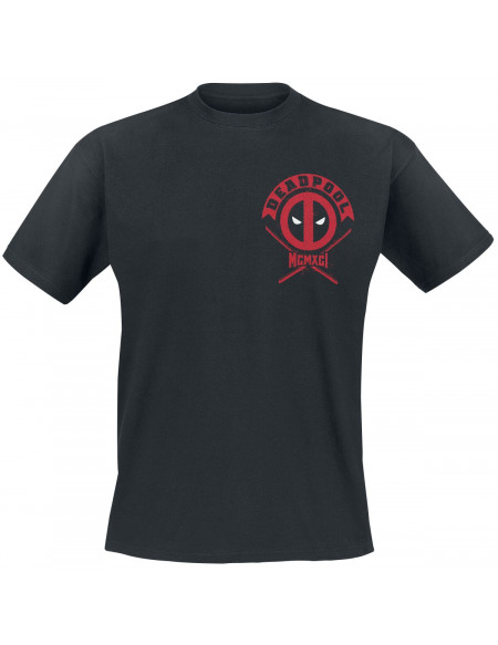 Deadpool The Merc With The Mouth T-shirt noir
