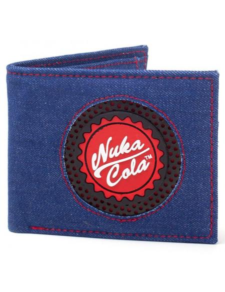 Fallout Nuka Cola Portefeuille bleu