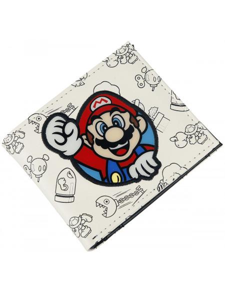 Super Mario Mario Portefeuille blanc