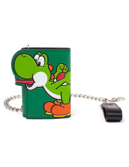 Super Mario Yoshi Portefeuille vert