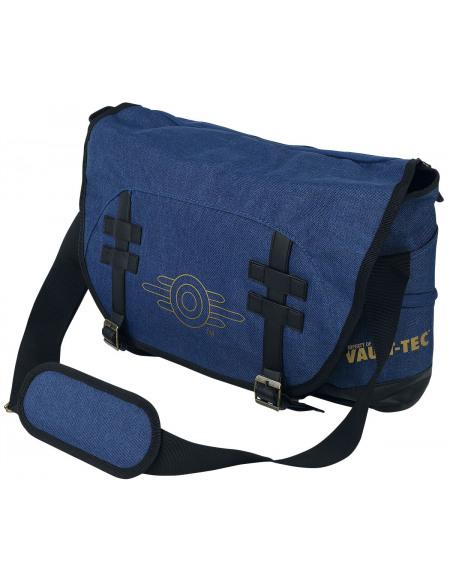 Fallout Logo Vault-Tec Besace bleu