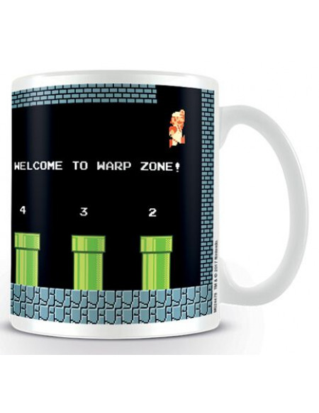 Super Mario Warp Zone Mug multicolore