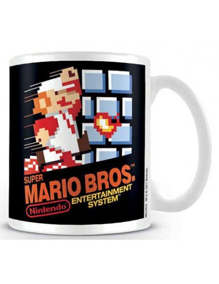 Super Mario NES Cover Mug multicolore