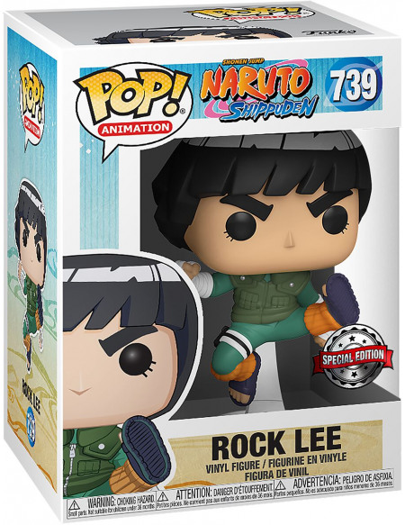 Figurine Funko Pop Animation Naruto Rock Lee