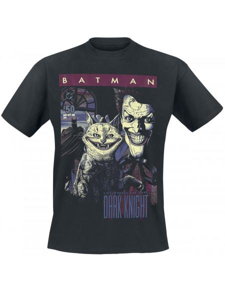 Batman The Joker - Cover #50 T-shirt noir