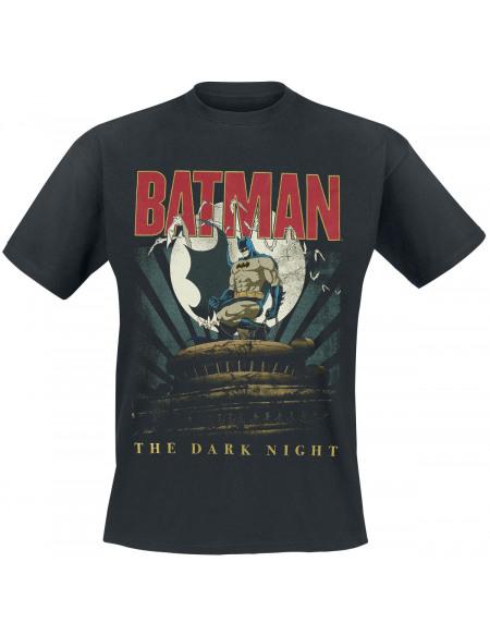 Batman The Night Is Yours T-shirt noir