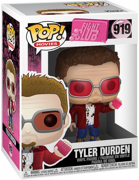Figurine Funko Pop Movies Fight Club Tyler Durden with Chase Modèle aléatoire