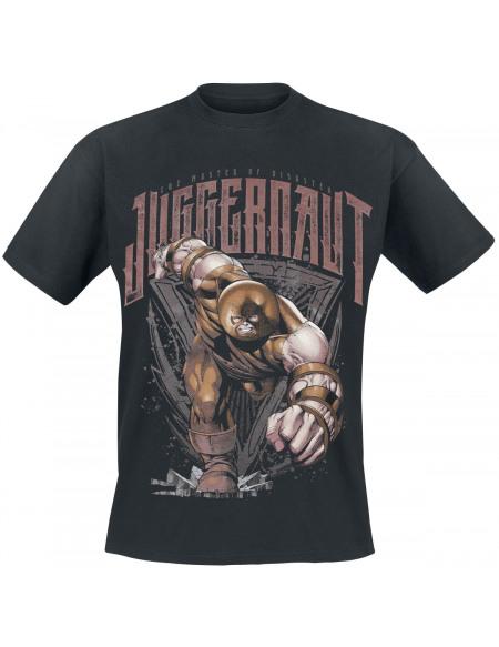 Deadpool Juggernaut T-shirt noir