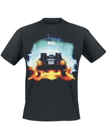 Retour Vers Le Futur Outatime T-shirt noir