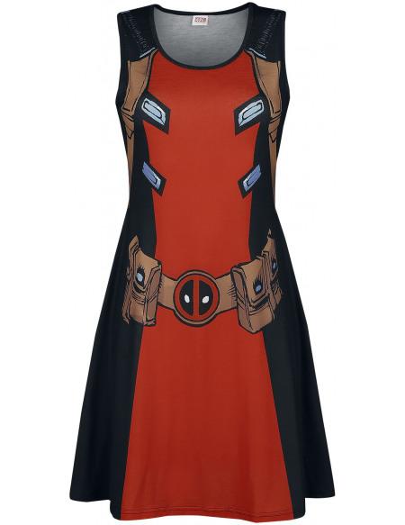 Deadpool Uniforme Robe multicolore