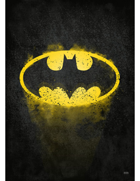 Batman Plaque (Logo Classique) Photo murale Standard