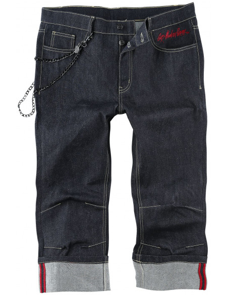 Gas Monkey Garage Monkey Short bleu