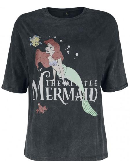 La Petite Sirène La Petite Sirène T-shirt Femme gris sombre chiné