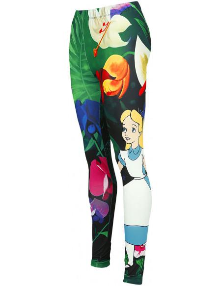 Alice Au Pays Des Merveilles Flowers Legging multicolore