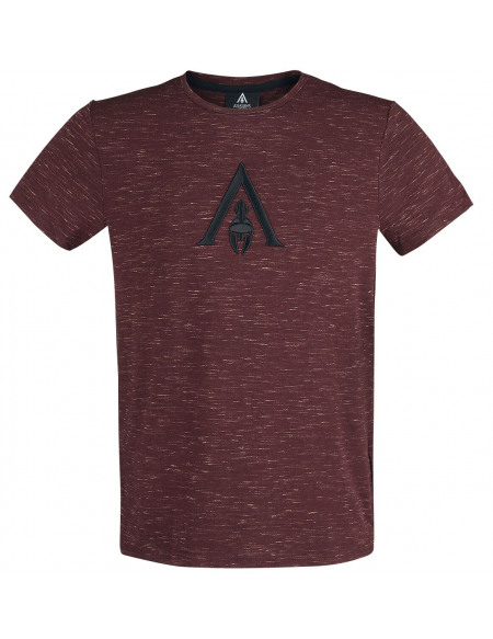 Assassin's Creed Odyssey - Emblem T-shirt rouge chiné