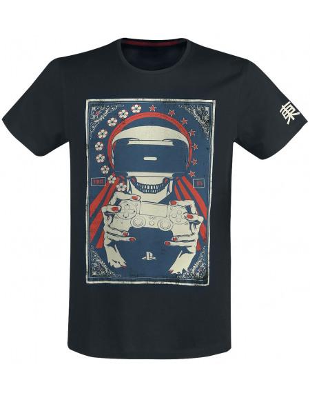 Playstation Réalité Virtuelle T-shirt noir