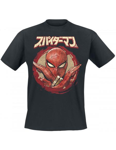 Spider-Man SpiderRanger T-shirt noir