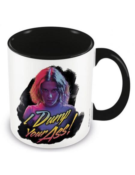 Stranger Things I Dump Your Ass Retro Mug multicolore