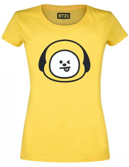 BT21 Chimmy T-shirt Femme jaune