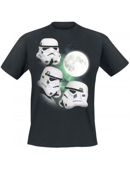 Original Stormtrooper Howling At The Moon T-shirt noir