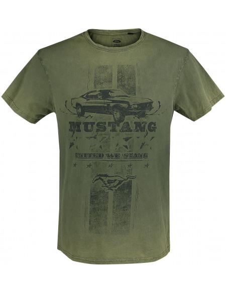 Ford Mustang - 55 Years T-shirt vert