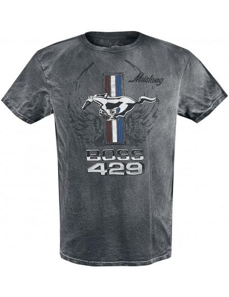 Ford Mustang - Boss 429 T-shirt noir